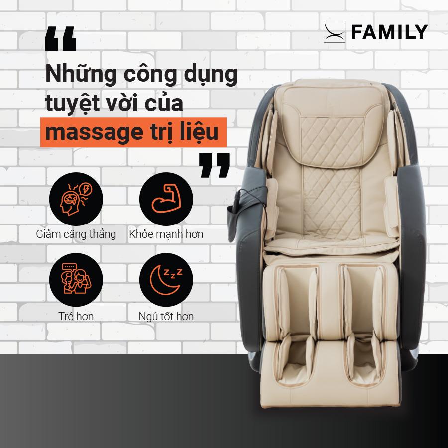 Những công dụng tuyệt vời của massage trị liệu bạn nên biết