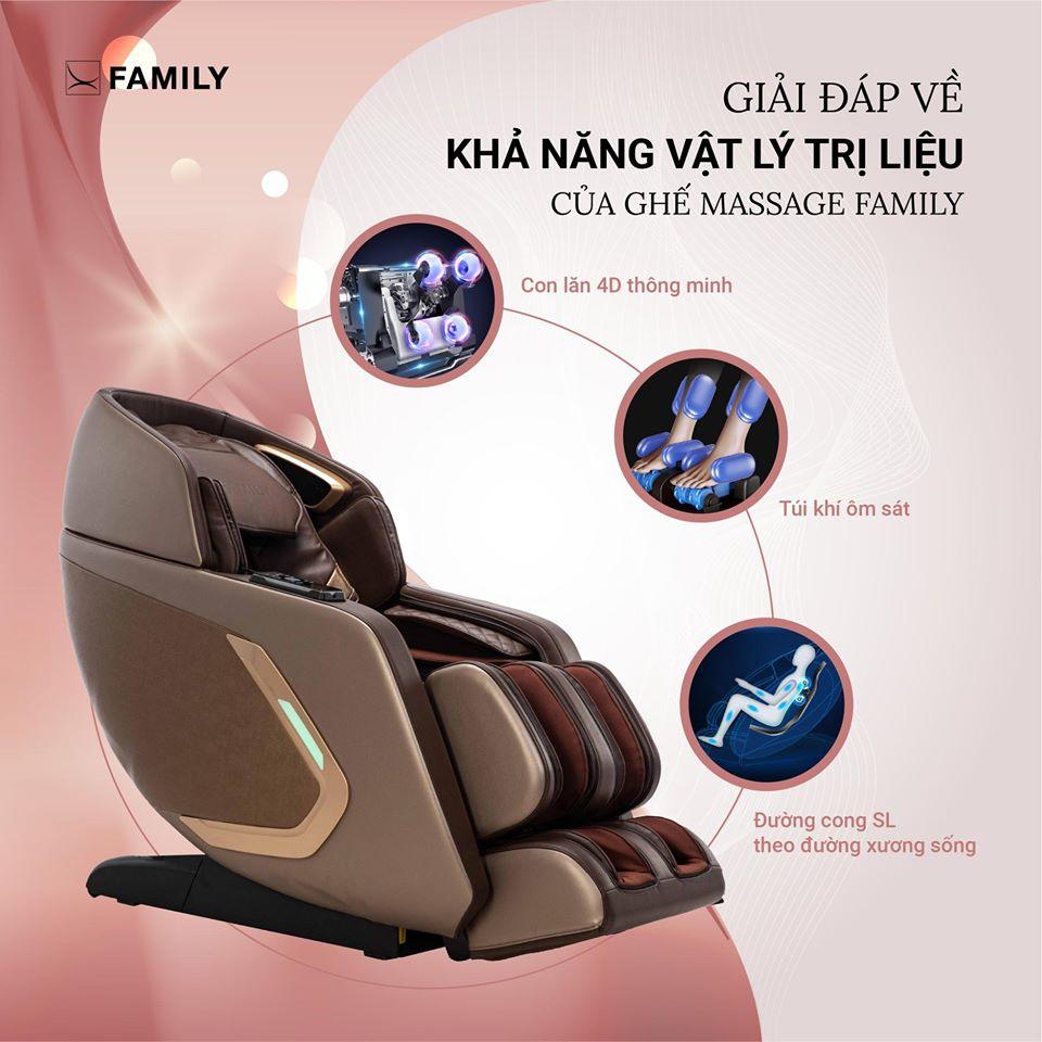 6 lý do mẹ bạn cần 1 chiếc ghế massage?