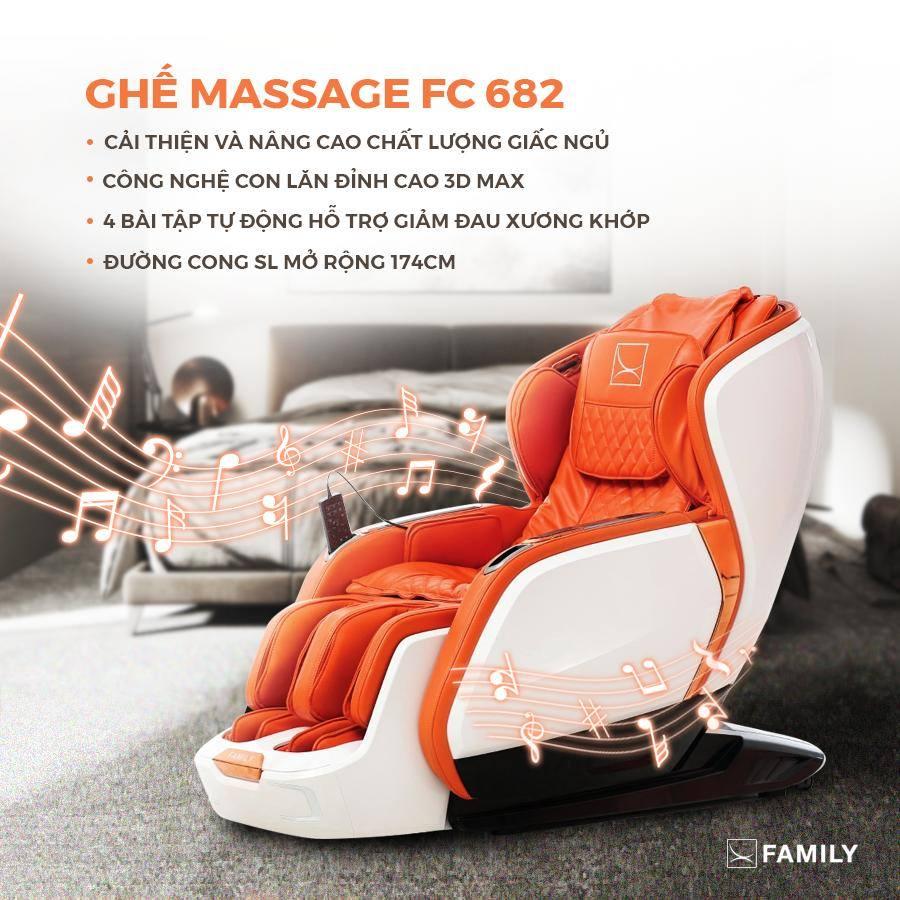 Ghế massage toàn thân - Công nghệ thông minh cho sức khỏe