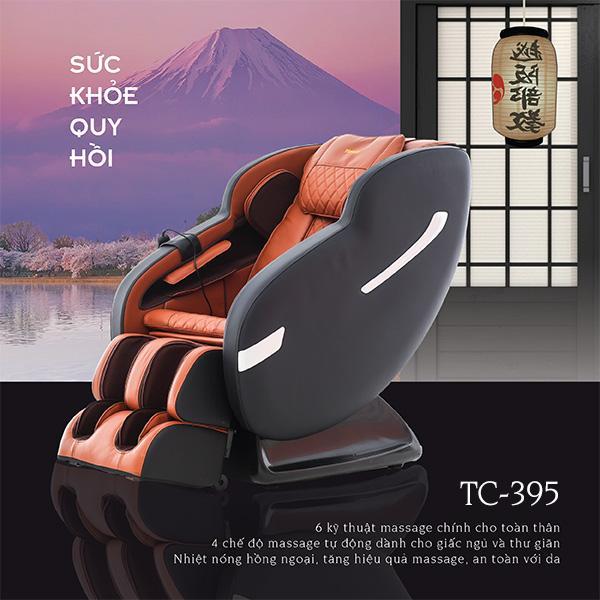 Ghế Massage Toàn Thân TC-395 (Chăm sóc sức khỏe cho mọi nhà)