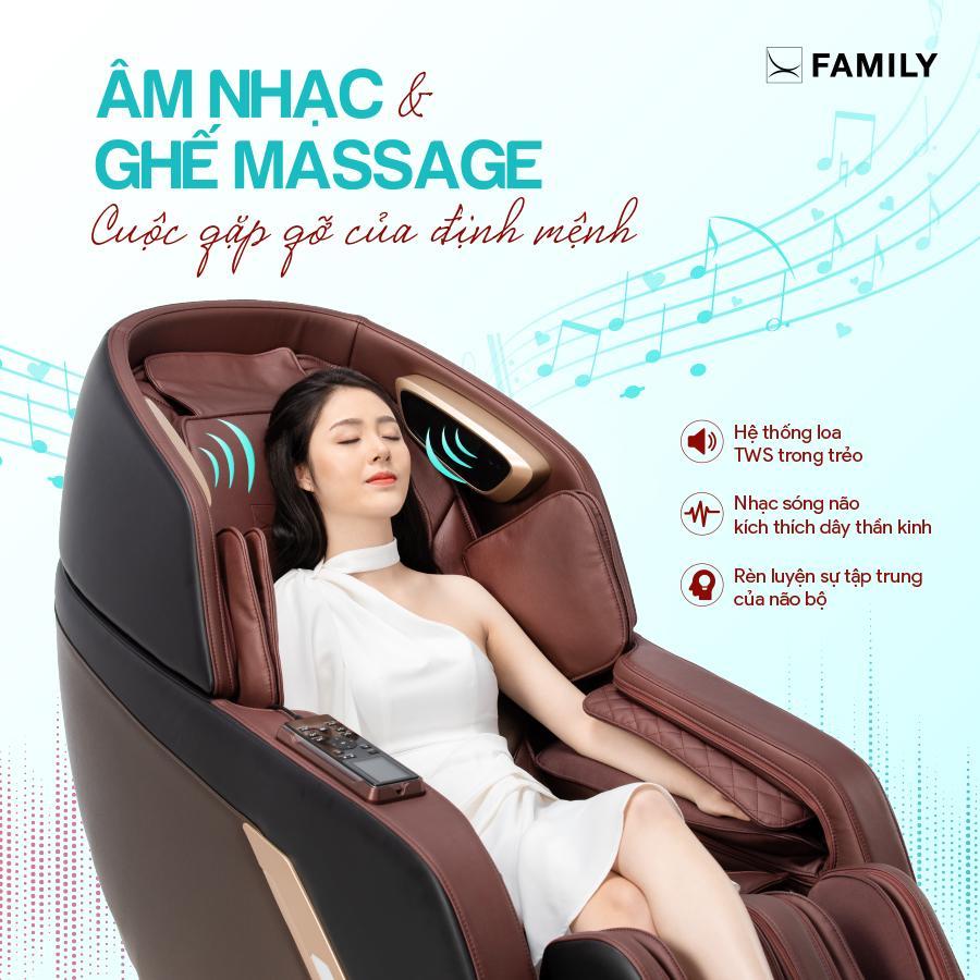 Những tác động tích cực đối với cơ thể chỉ có trong ghế massage
