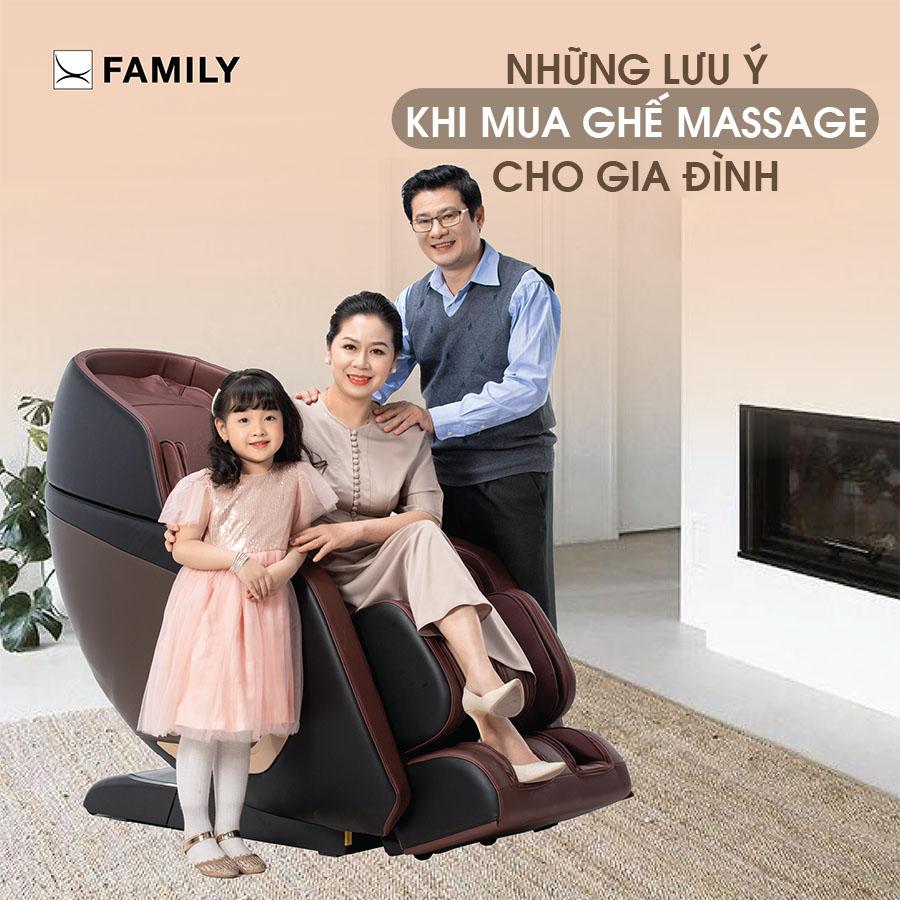 Cẩm nang mua ghế Massage: những lưu ý khi mua ghế Massage cho gia đình